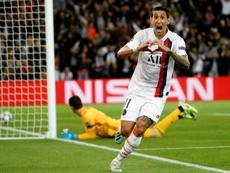 PSG domina o Real Madrid em noite de Di Maria. AFP