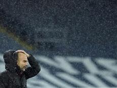 Guardiola no tendrá refuerzos en enero. AFP/Archivo