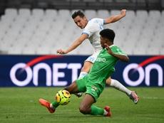 El conjunto francés quiere atar a Florian Thauvin como sea. AFP