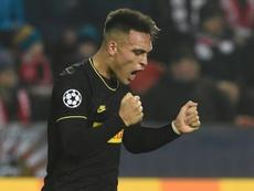 Lautaro sería más fácil de fichar que Neymar. AFP