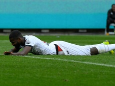 El Guingamp vivió su drama en forma de descenso. AFP