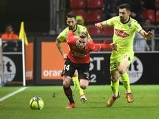 Rennes reçoit Angers. AFP
