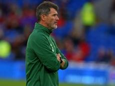 Roy ejerció como asistente en la Selección Irlandesa. AFP