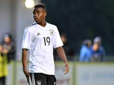 Haaland alucina con la perla del Dortmund. AFP