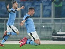 Leonardo quiere echar sus redes en la Lazio. AFP