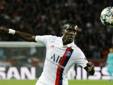 Idrissa Gueye habló del inminente duelo en el Bernabéu. AFP/Archivo