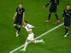 El partido del Madrid en París fue para olvidarlo. AFP