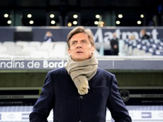 Le président des Girondins de Bordeaux s'est montré rassurant. AFP