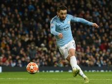 City affrontera Brighton en demi-finales. AFP