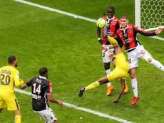 El Niza-PSG se jugará finalmente a puerta cerrada. AFP/Archivo