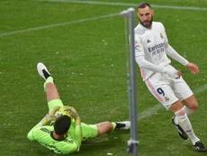 Benzema quiere retirarse en el Lyon. AFP