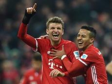 Müller comentou a vitória frente ao PSG. AFP