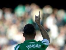 Joaquín rêve d'un retour avec la Roja. AFP