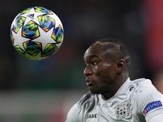 Diaby élu joueur de l'année du Bayer devant Havertz. AFP
