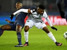 Jonathan Cafu ya es jugador del Girondins de Burdeos. AFP