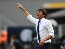 Conte podría salir del Inter. AFP