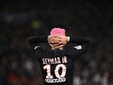 Neymar et le PSG, toujours plus proche de la fracture. AFP