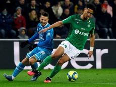 Saliba no podrá jugar la final de la Copa de Francia. AFP