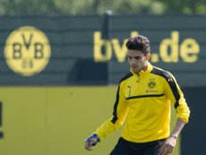 Dortmund defender Marc Bartra is afraid about his future. AFP