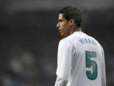 Une erreur que Varane voyait venir. AFP