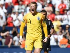 A Inglaterra venceu a Suíça e conquistou o terceiro lugar na Liga das Nações. AFP