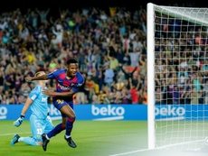 El Barça quiere regresar a la versión del Camp Nou. AFP