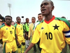 Akonnor, nuevo seleccionador de Ghana. AFP