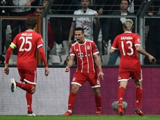 Thiago to only miss 'a few days'. afp