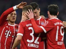 O Bayern venceu o Colónia por 1-3. AFP
