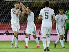 Argelia pasa a octavos con 9 puntos, 6 goles a favor y 0 en contra. AFP