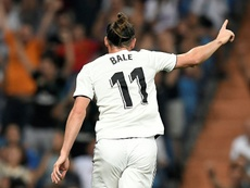 Bale scored Real Madrid's second on the night. AFP