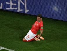 Suiza comienza su camino a la Eurocopa con buen pie. AFP/Archivo