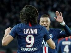 Cavani intéressé par un transfert à Boca dans le futur. AFP