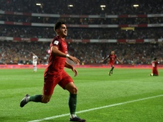 Andre Silva scored his 13th for Portugal. AFP