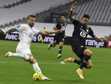 Marseille sauve un point contre Lille. AFP