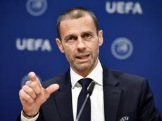 La UEFA mandó una carta. AFP