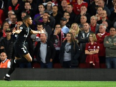 Mbappé went from hero to zero at Anfield last night. AFP