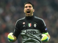 Gianluigi Buffon made spectacular double saves in either half against Milan. BeSoccer