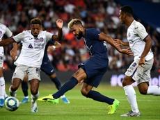 Retour sur le but de Choupo-Moting contre Toulouse. AFP
