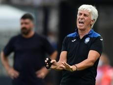 Treinador da Atalanta lamentou a lesão do francês. AFP