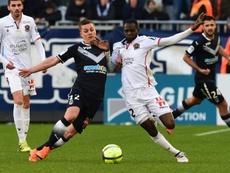 Les compos probables du match de Ligue 1 entre l'OGC Nice et Bordeaux. AFP