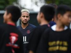 Le clan Neymar attend bien une dernière offre du Barça. AFP