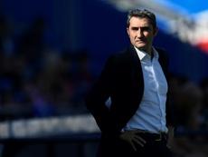 Valverde recupera su fortaleza. AFP