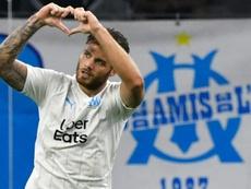 El Marsella empata con el Rennes. AFP