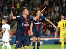 Draxler évoque sa prise de tête avec Neymar. AFP