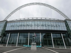 The bid to buy Wembley has been withdrawn. AFP