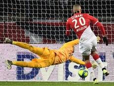 O Lille se une ao Marsella no interesse por Slimani. AFP