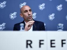 RFEF y España Global firman un acuerdo para proyectar la imagen de España. AFP
