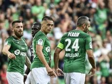 Saint-Etienne perd Hamouma et Khazri pour plusieurs semaines. AFP