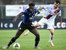 Atalanta recusou uma oferta pelo seu craque colombiano. AFP